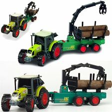 Dickie Claas Timber transport tractor with trailer Sound and Light