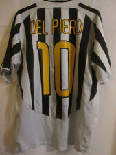 "Juventus 2003-2004 Del Piero Home Football Shirt Size Large 42""-44""  /33120"