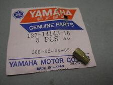 Yamaha NOS HT1, HT1BM, LS2, YAS1C, YCS1, Main Jet (#80) # 137-14143-16-00   d2