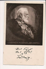 Vintage Postcard King Ludwig III of Bavaria