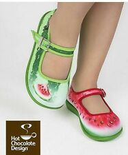Hot Chocolates Shoes, Watermelon Size Kids 7