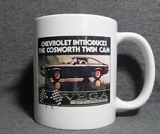 Chevrolet Cosworth Vega Coffee Cup, Mug - New - Classic 70's - Sharp
