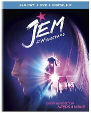 JEM AND THE HOLOGRAMS  - BLU RAY -  & Region free - sealed