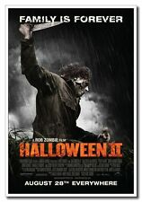 "Halloween 2 II 24""x16"" Zombie Movie Silk Poster Art Print Horror Michael Myers"