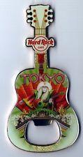 Hard Rock Cafe TOKYO V8 City Tee Guitar Bottle Opener Magnet