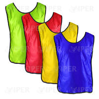 FOOTBALL TRAINING SPORTS BIBS Youth and Adult Sizes RUGBY HOCKEY TRAINING BIBS