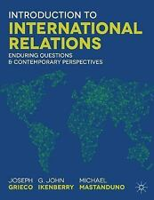 NEW Introduction to International Relations by Joseph M. Grieco Paperback