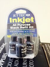 NEW JET TEC R51 Inkjet Refill Kit HP Hewlett Packard Black SEALED OEM INK