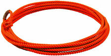 Orange 20 kids little looper rodeo youth roping rope western lasso lariat junior