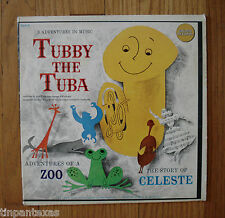 "Golden Records Tubby the Tuba GLP 8 Paul Tripp 12"" LP Children's Record"