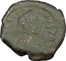 Justinian I 527Ad Authentic Ancient Medieval Byzantine Coin Large K i38907