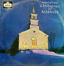 MANTOVANI-CANCIONES DE ALABANZA LP VINYL 1962 SPAIN EXCELLENT COVER CONDITION