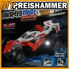 3in1 RC High Speed CAR Racer Rennauto Racingauto Buggy Trike Formel-1 1:12 RW