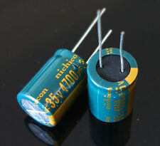 2pcs Nichicon 4700UF 35V PW Series Gold Filter capacitor Electrolytic capacitor