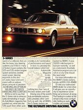 1992 BMW 535i 2-page - Original Advertisement Print Art Car Ad J566
