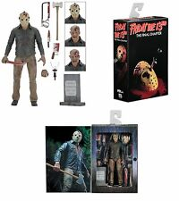 "NECA Friday The 13TH PART 4 IL CAPITOLO FINALE ULTIMATE Jason 7"" Action Figure"