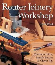 Router Joinery Workshop: Common Joints, Simple Setups & Clever Jigs