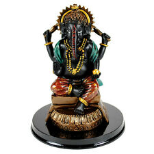 "GANESHA STATUE 4.75"" Hindu Elephant God Lord GOOD QUALITY Resin Ganesh NEW India"