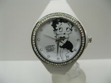 om14-11 OROLOGIO DONNA RAGAZZA BETTY BOOP BODY ZIRCONI BRILLANTINI LIST.49€