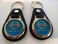 IMPALA SS CHEVROLET KEYCHAIN 2 PACK CLASSIC FOB LOGO