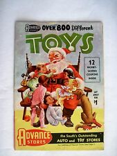 """Darling 1957 """"Advance Stores"""" Christmas Toy Catalog w/ Great Colored Pictures *"""