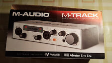 M-audio M-track Mk II two-channel USB Audio Interface nuevo