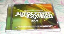 2006 JUNIOR EUROVISION SONG CONTEST CD WITH SWEDISH SONGS FROM SWEDEN