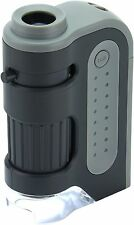 Carson MicroBrite Plus 60 -120x Power LED Lighted Pocket Microscope