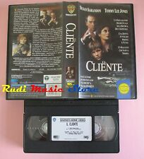film VHS IL CLIENTE Susan Sarandon Tommy Lee Jones GLI SCUDI 1994  (F33*) no dvd