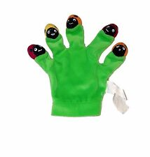 Five Little Ladybugs Green Glove Puppet  ( 9x4 inches) 2006