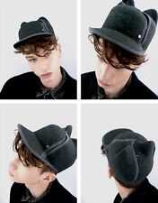 **MAISON MICHEL** Jamie Cat Ears Felt Wool Cap Hat