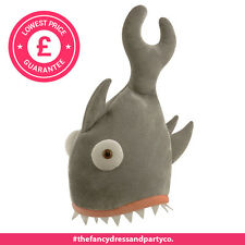 Novelty Shark Bite Hat Fancy Drss Animal Costume Fish Jaws
