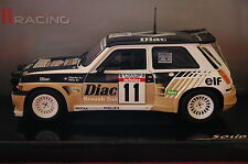 SOLIDO 1/18 VOITURE RALLYE RENAULT 5 MAXI TURBO 1985 DIAC FRANCOIS CHATRIOT NEUF