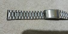 19mm seiko  watch stainless steel  bracelet band strap new