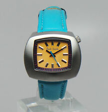 Paul Smith CYAN & YELLOW TV FASHION WATCH 1998