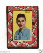 CICLISMO   CONTE    FIGURINA  VAV  1948  A  BORDO  ROSSO