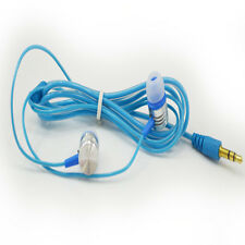 Blue Cool In-Ear Earbud Earphone Headset Headphone For Samsung iPhone iPod MP3