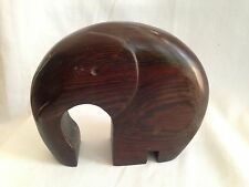 Railwood Collection South Africa Wood Elephant Recycled Carve Railroad Ties