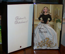 BFC Festive and Fabulous Barbie Doll NRFB  Mattel