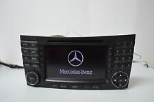 05 06 07 MERCEDES-BENZ E-CLASS RADIO CD NAVIGATION  SAT AM FM TESTED Y36#045