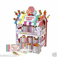 New wedding birthday party talking tables retro sweet shop display stand cart