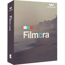 Wondershare filmora video editor Windows Lifetime versión completa ESD descarga