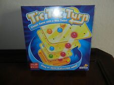 Tic Tac Turn Family Board Game New in Box 3D Version of Tic-Tac-Toe with a Twist
