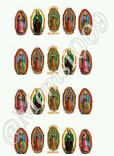 Guadalupe Nail Decals (water decals) Virgin Mary Nail Decals
