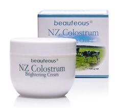 Natural Brightening Cream w Genuine New Zealand Colostrum, Sweet Almond Oil 100g