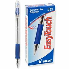 Pilot EZT Easy Touch Ball-Point Pen, Medium, Blue (PIL 32011) - 12/pk