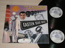 RAY DAYTONA AND GOOGOOBOMBOS - FASTEN SEAT BELT- 2 LP 33 GIRI ITALY