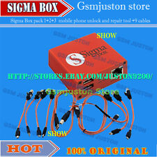 Sigma box with pack1+pack2+pack3+9 cables new update for huawei