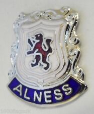 Alness Highlands Scotland Small Town Crest Pin Badge (0051)