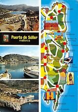 BG27415 puerto de soller mallorca map   spain